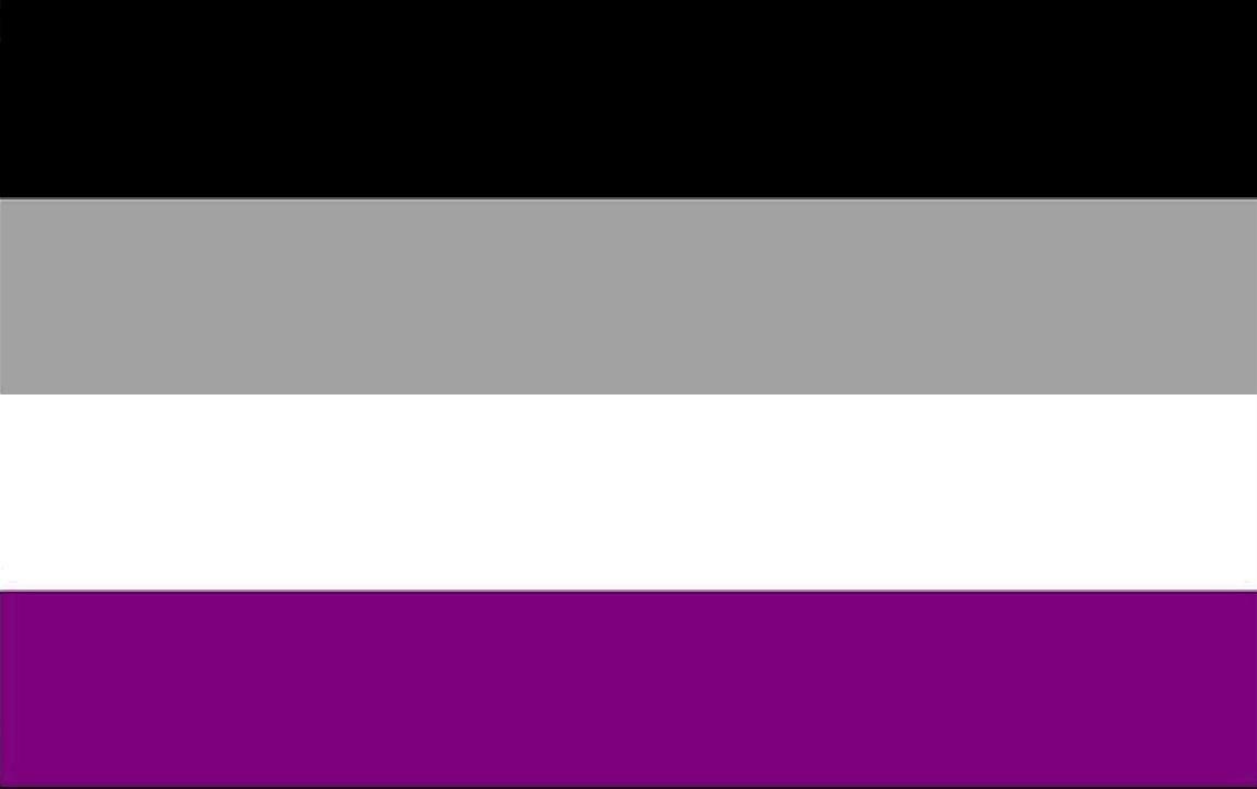 drapeau asexualité