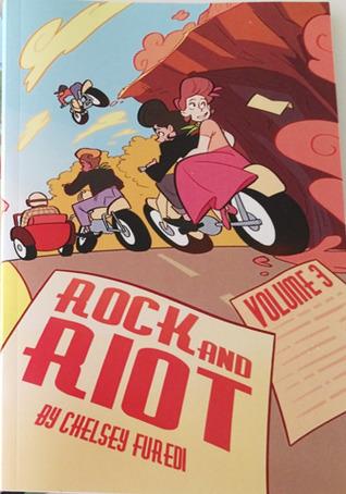 couverture de Rock & Riot de Chelsey Furedi