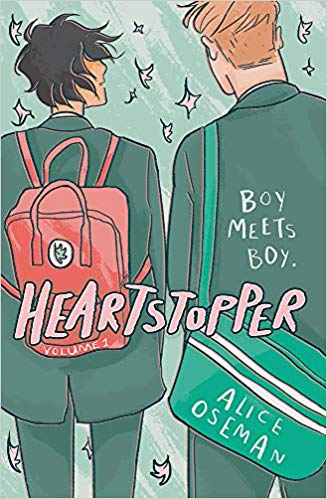 couverture de Heartstopper tome 1 d'Alice Oseman