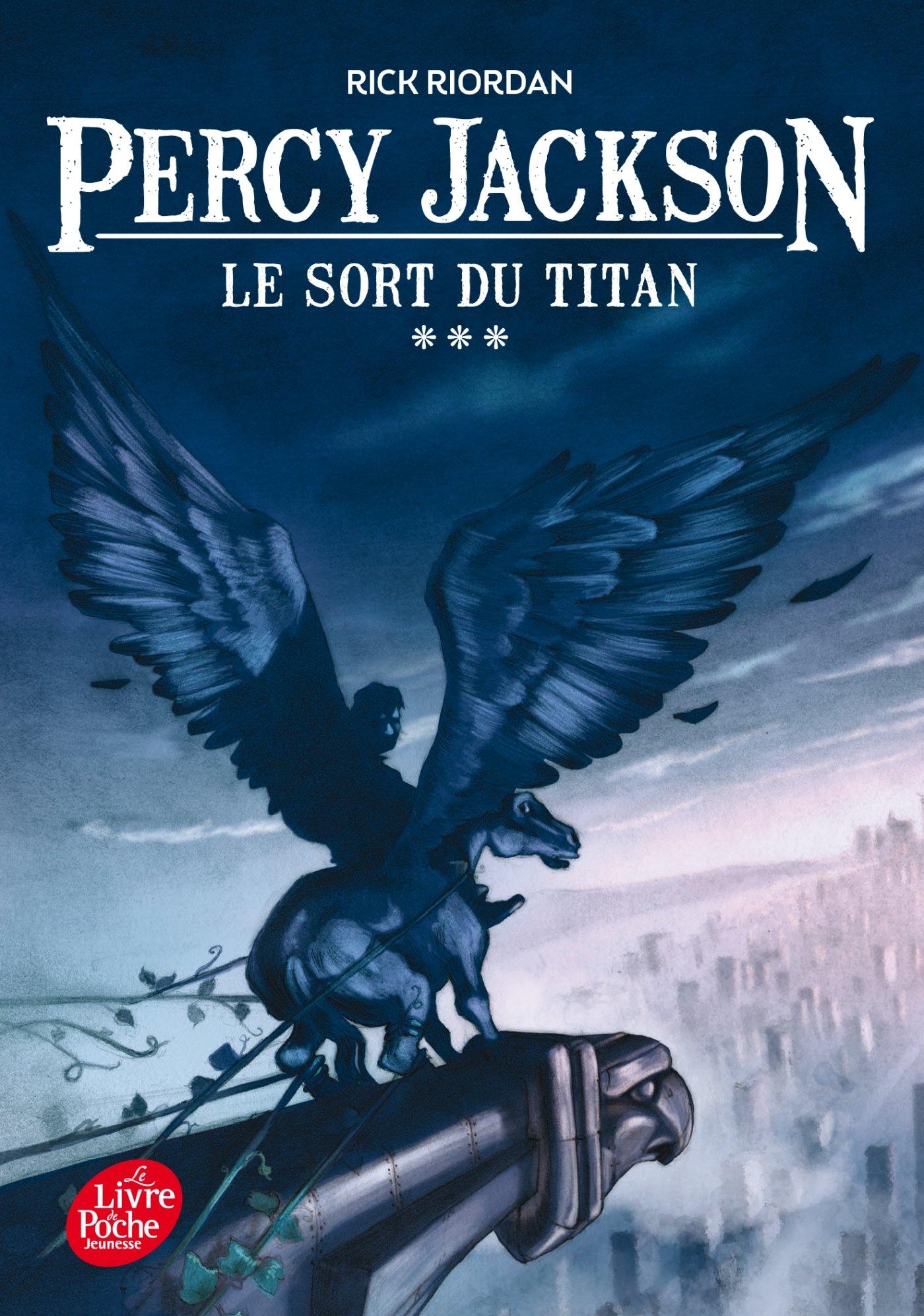 couverture Percy Jackson de Rick Riordan