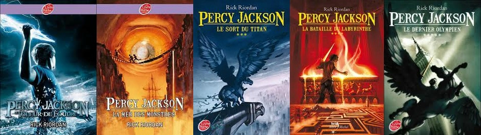 couvertures Percy Jackson