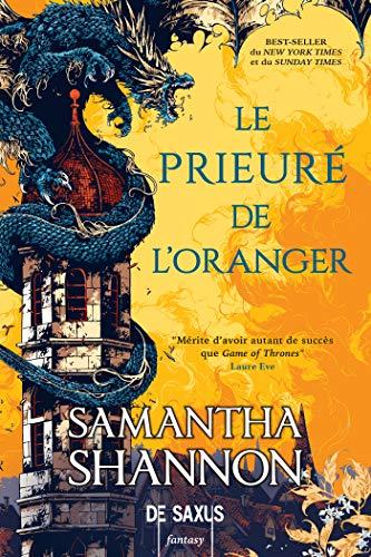 couverture de Le Prieuré de l'Oranger de Samantha Shannon