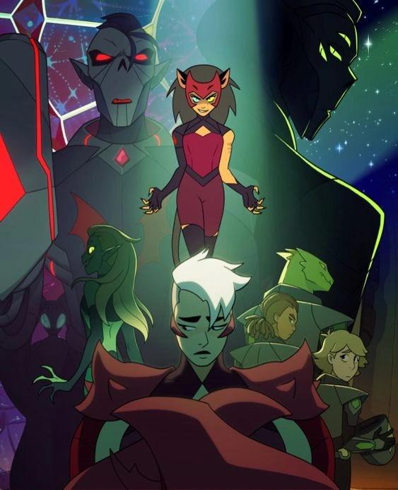 poster avec tous les méchants de She-Ra and the Princesses of Power