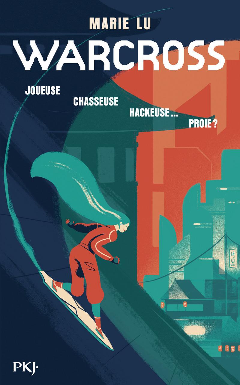 couverture de Warcross de Marie Lu