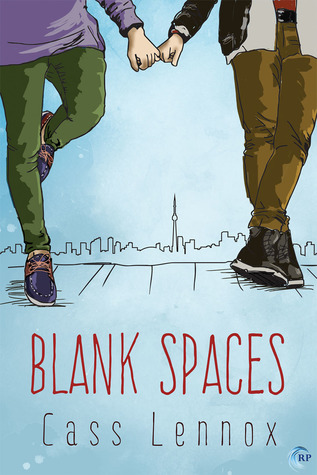 couverture de Blank Spaces de Cass Lennox