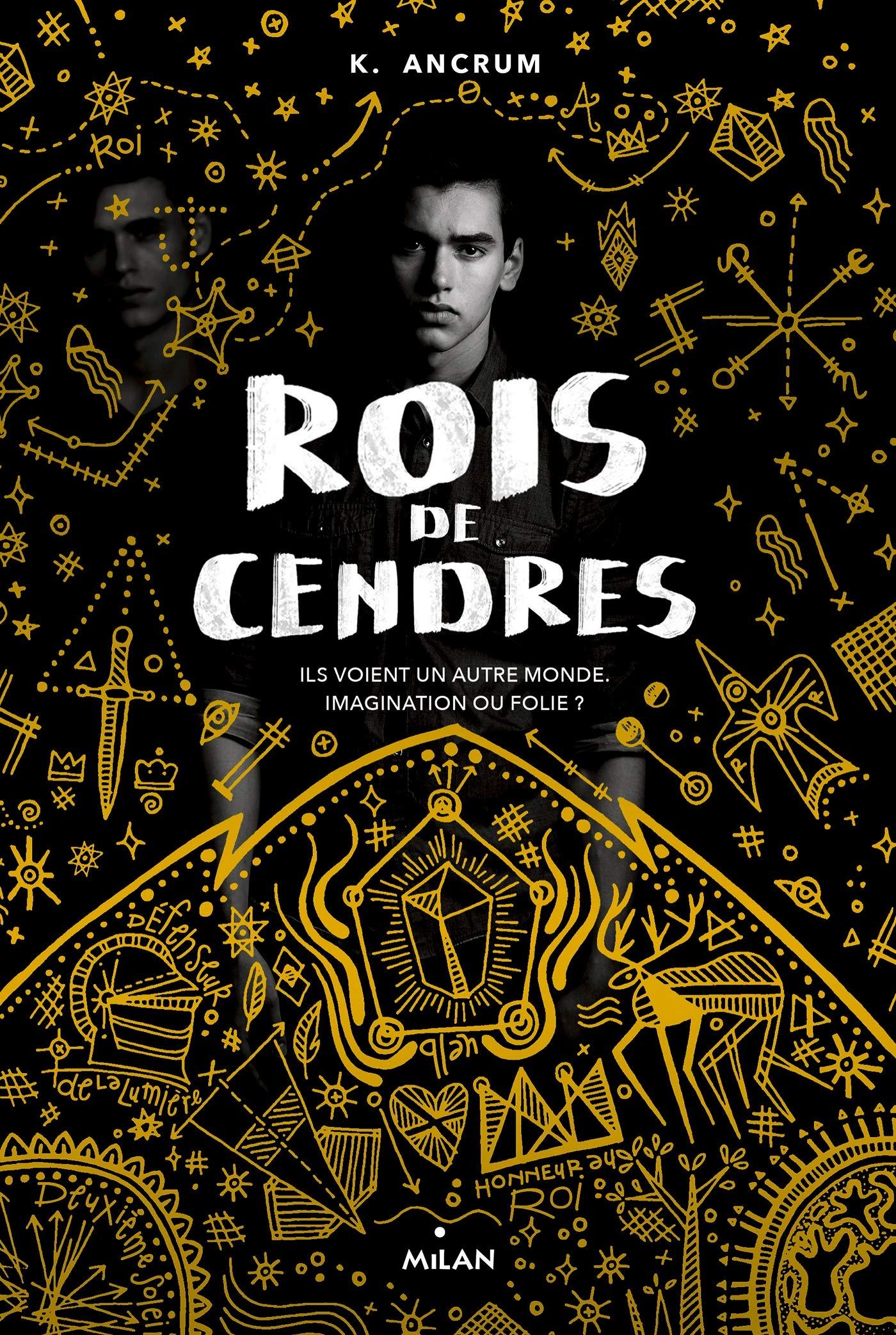 couverture de Rois de Cendres de K. Ancrum