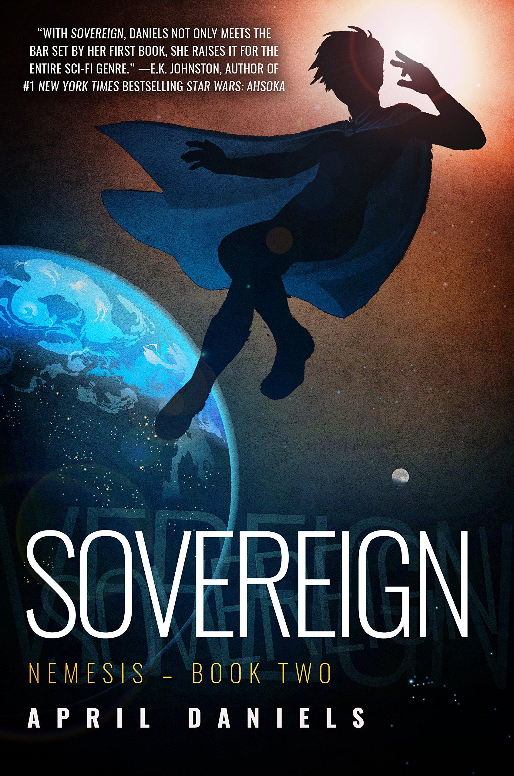 couverture de Sovereign d'April Daniels