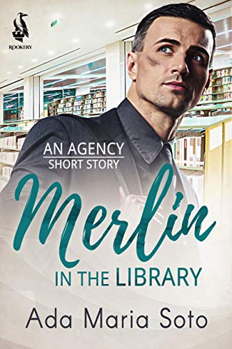 couverture de Merlin and the Library d'Ada Maria Soto