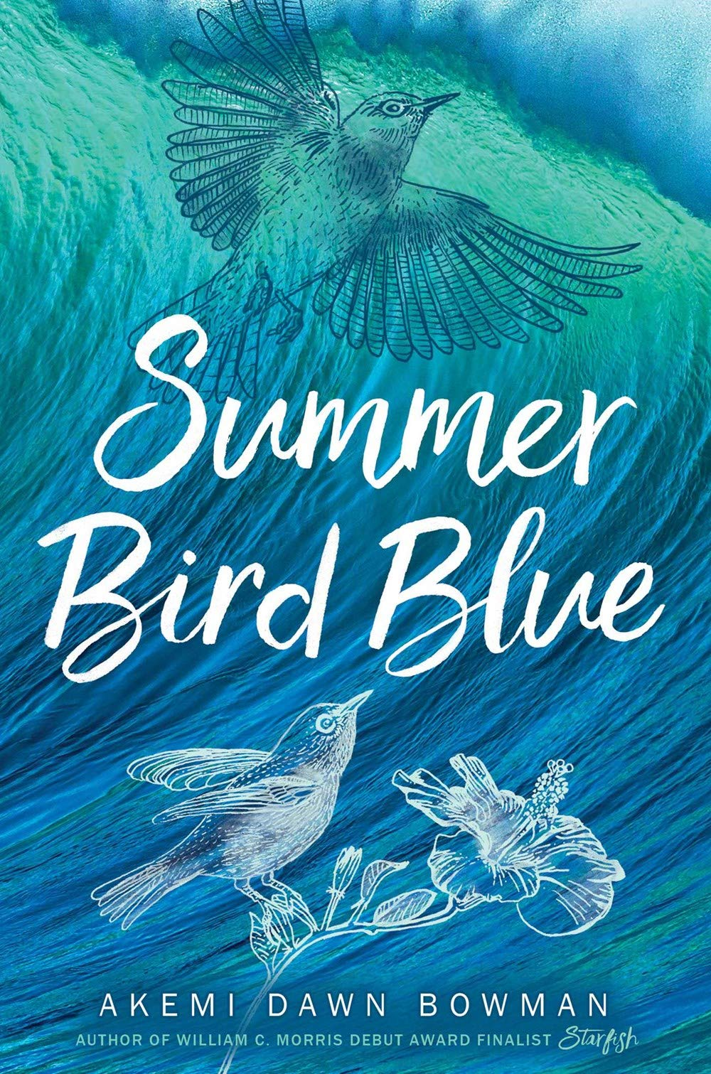 couverture de Summer Bird Blue d'Akemi Dawn Bowman