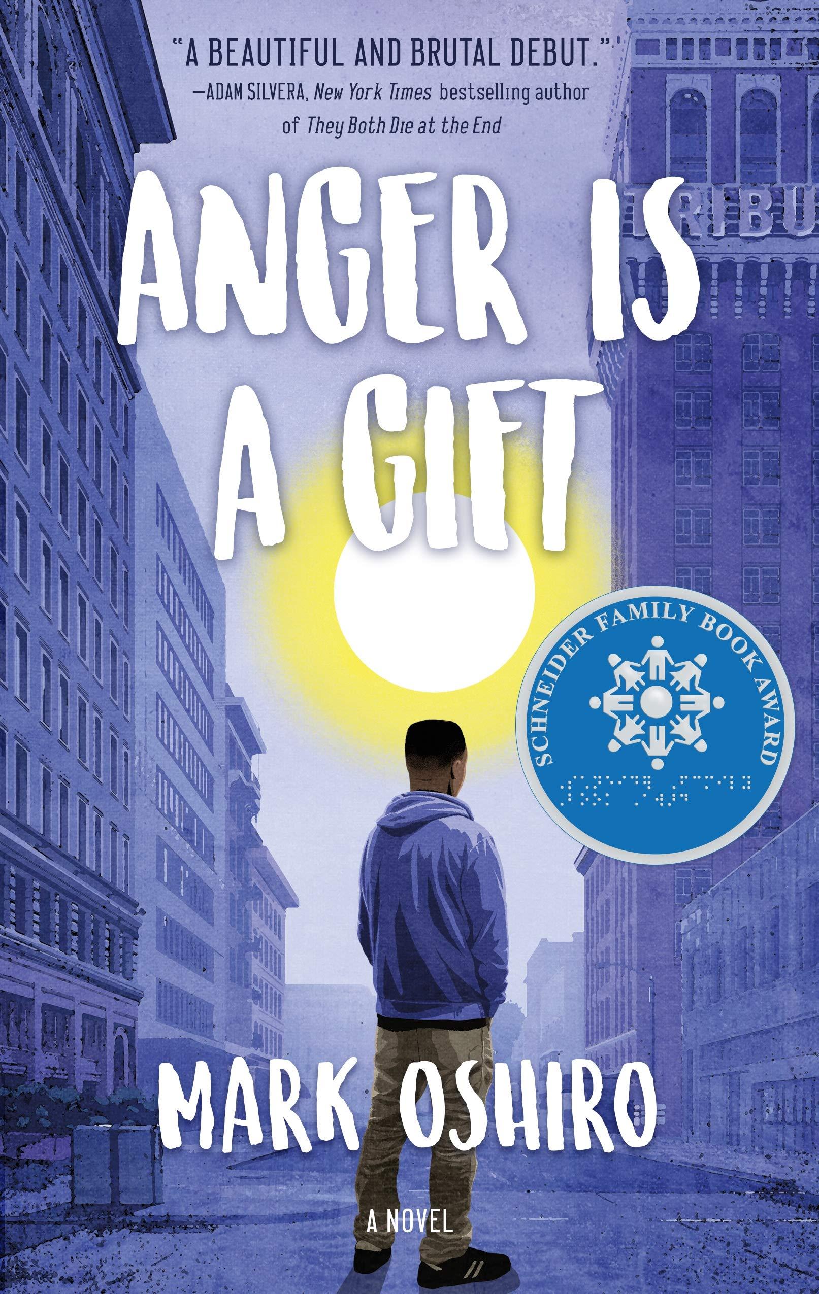 couverture de Anger is a Gift de Mark Oshiro
