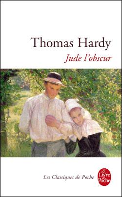 couverture de Jude l'obscur de Thomas Hardy avec le tableau d'un couple