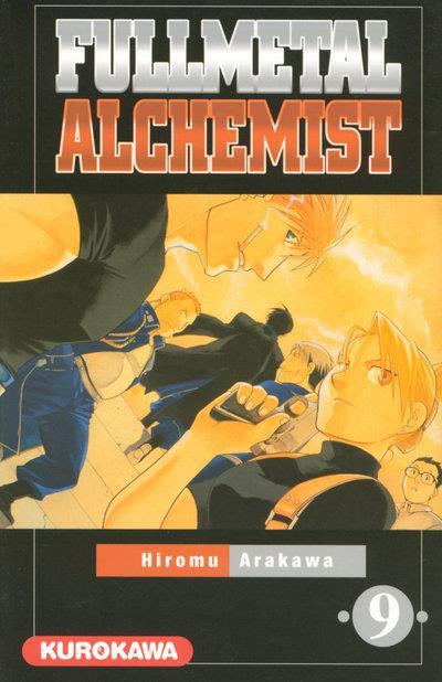 couverture du tome 9 de Fullmetal Alchemist de Hiromu Arakawa