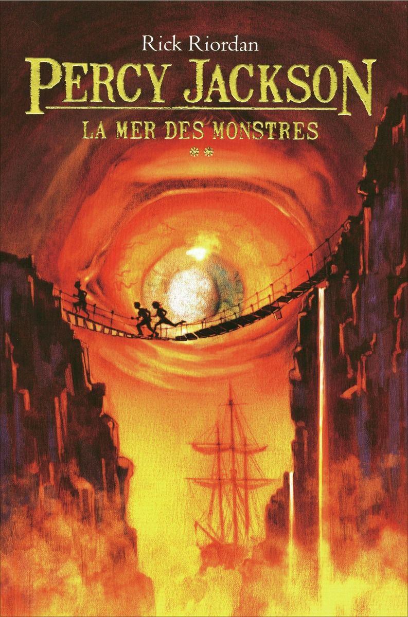 couverture de Percy Jackson tome 2 de Rick Riordan