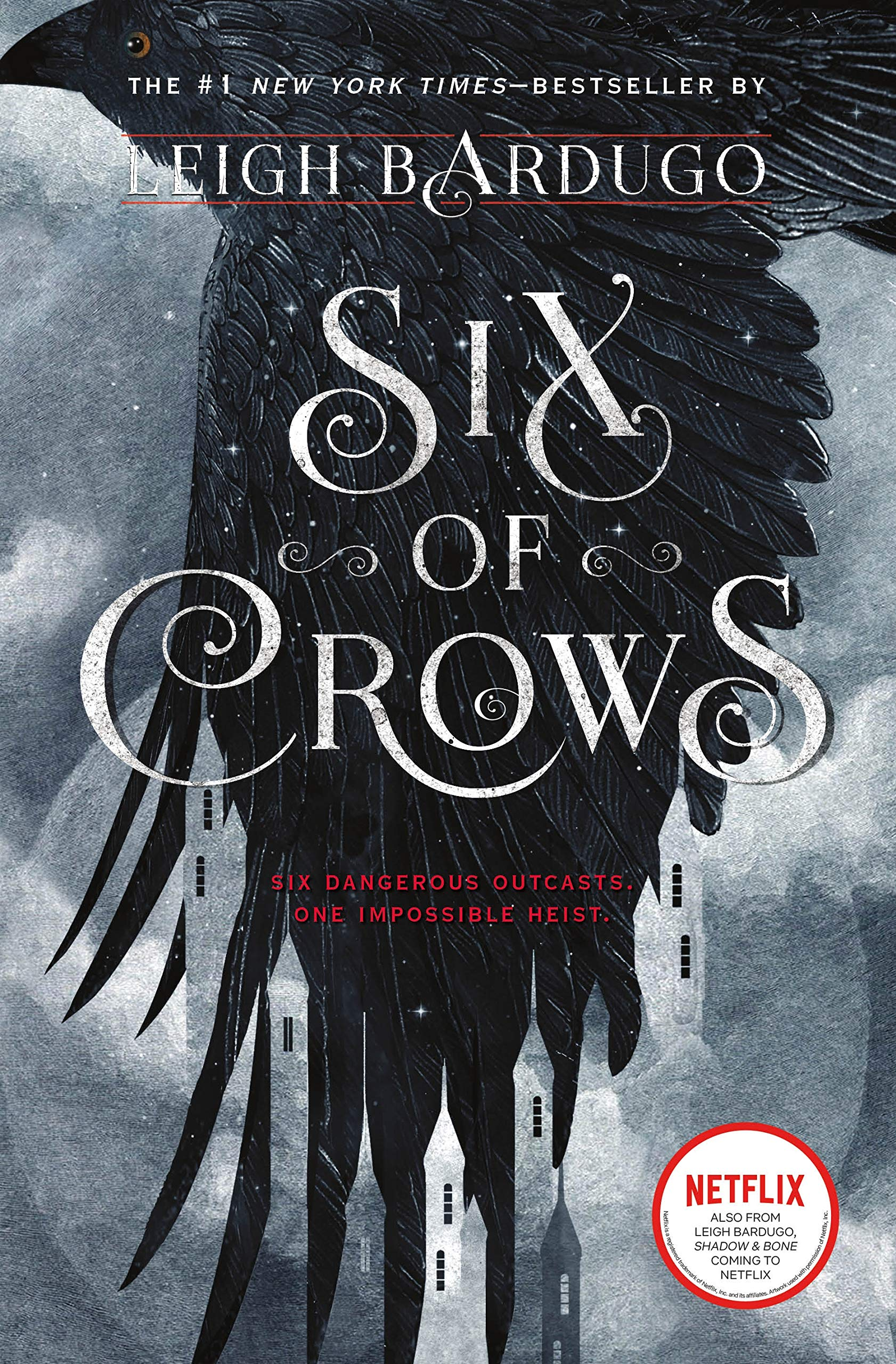 book cover of Six of Crows