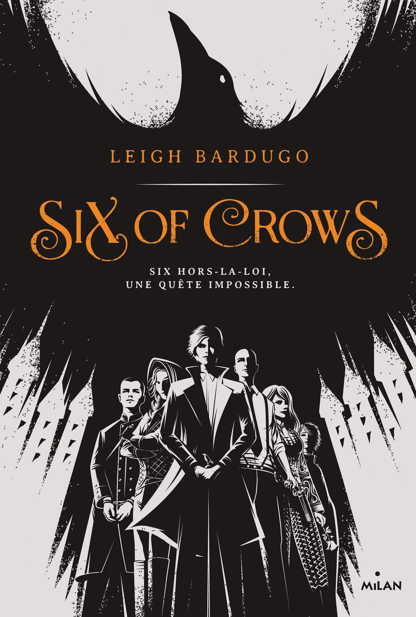 couverture de Six of Crows