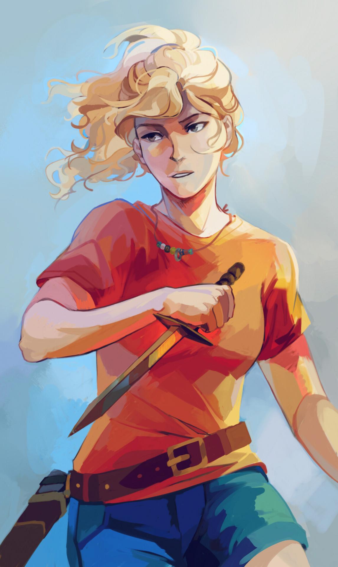 portrait d'Annabeth par Viria