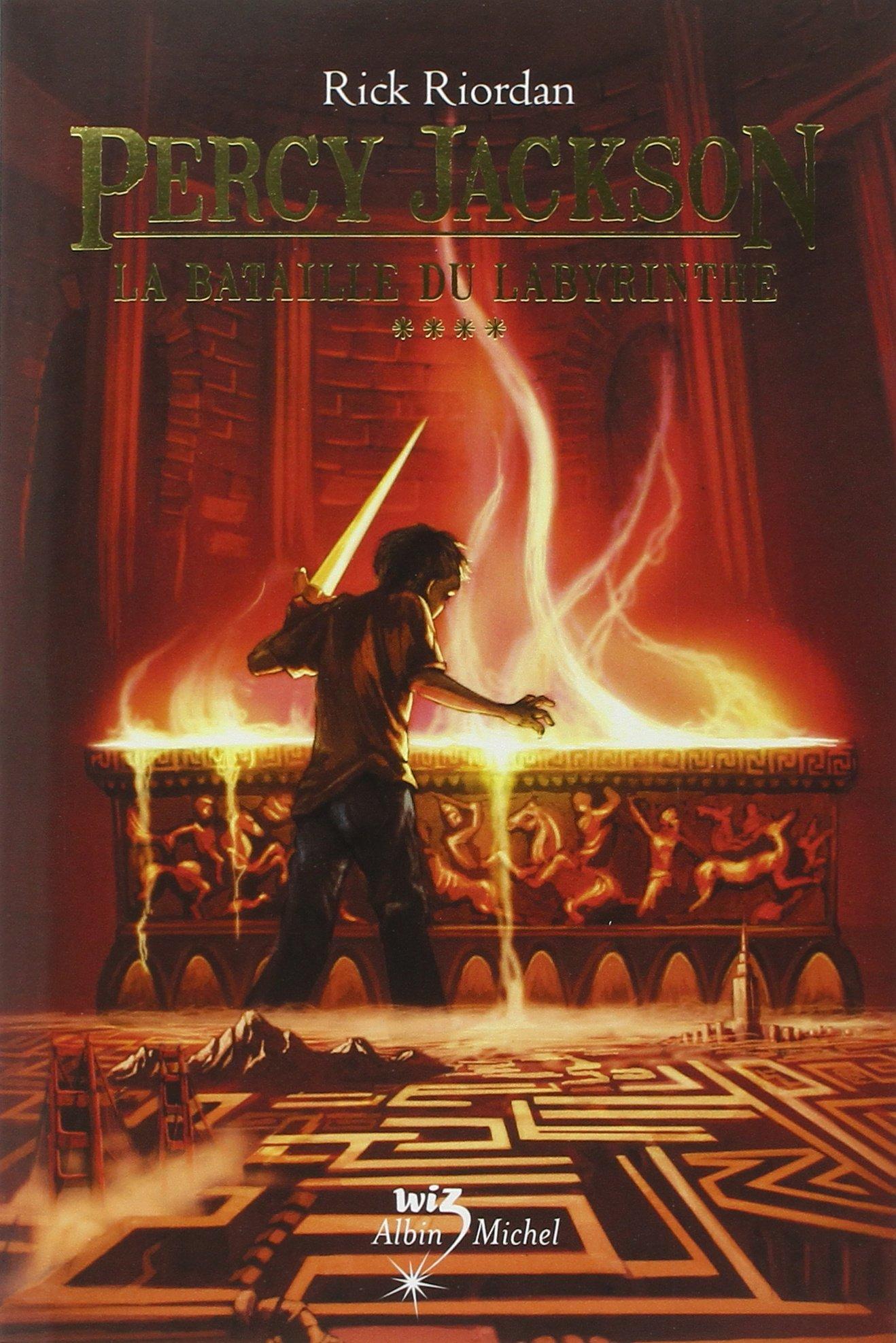 couverture de Percy Jackson tome 4 de Rick Riordan