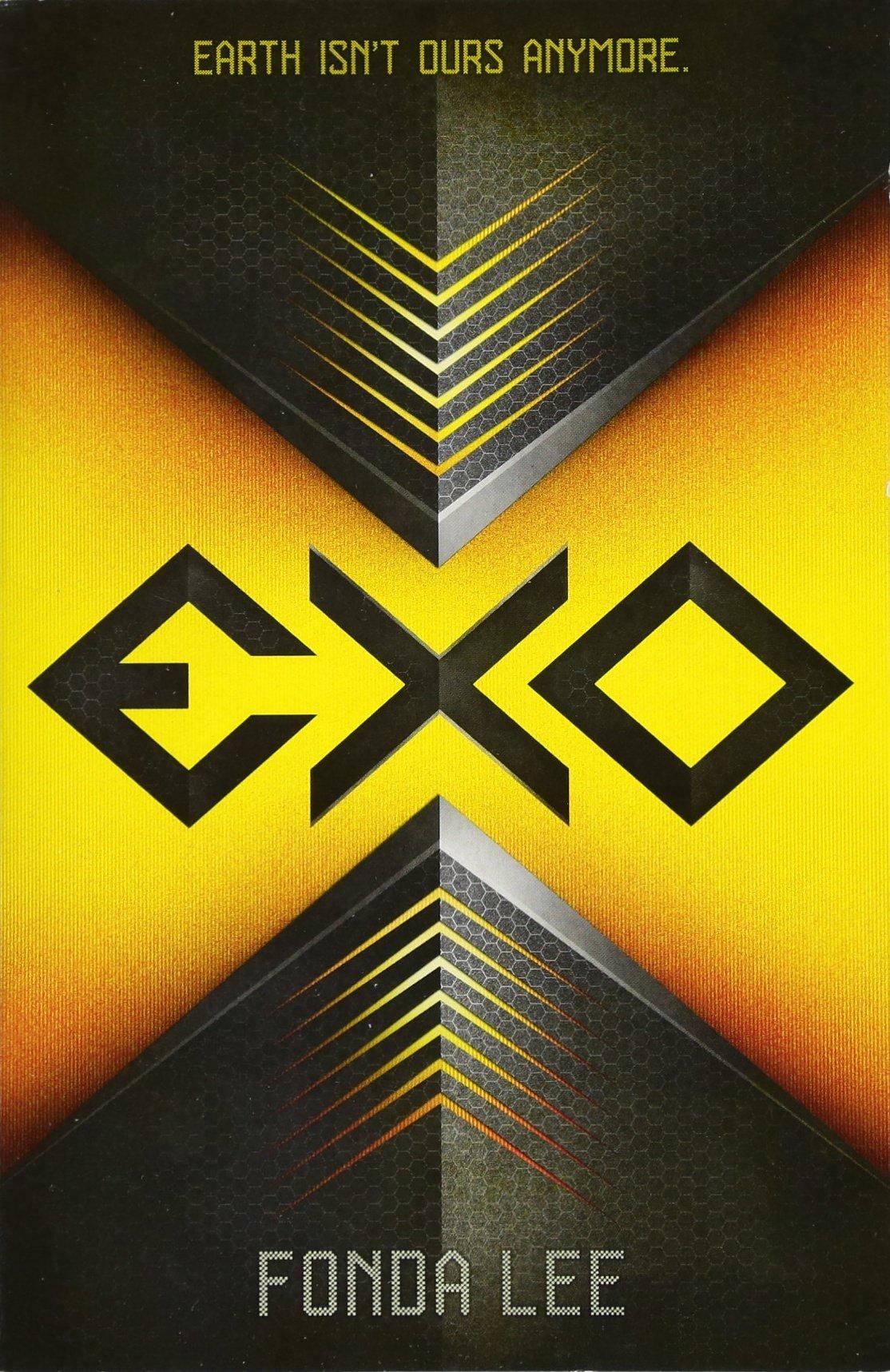 couverture anglaise d'Exo de Fonda Lee