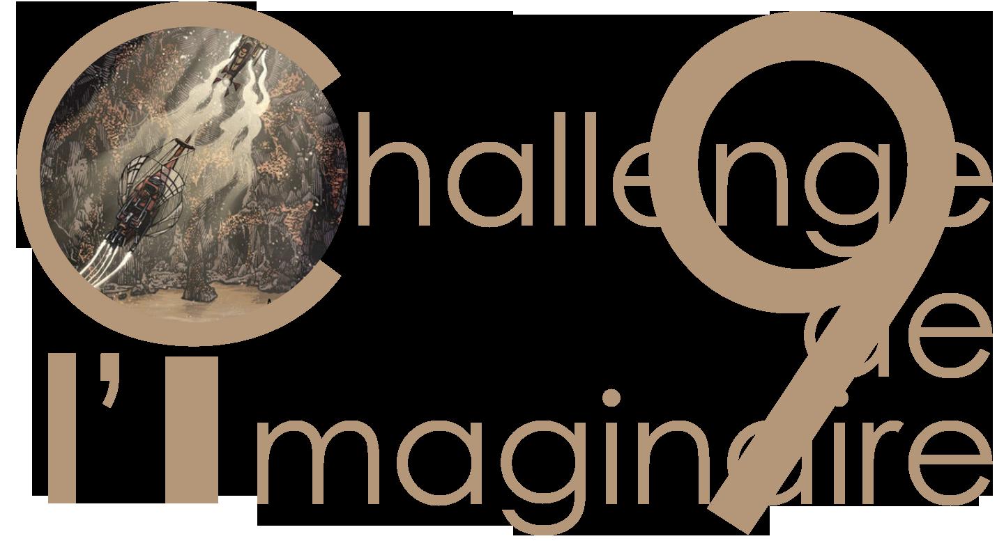 logo challenge de l'imaginaire 2021 avec une image de Steam Sailors